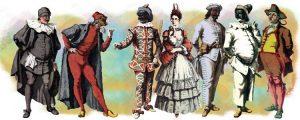 commediadell arte masks