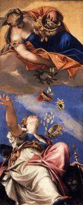 225px Paolo Veronese   Juno Showering Gifts on Venetia   WGA24937